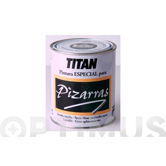 PINTURA PIZARRA NEGRO 1801 750 ML TITAN